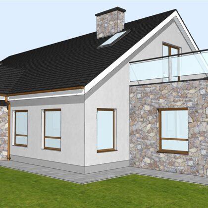 Дом 140 м кв